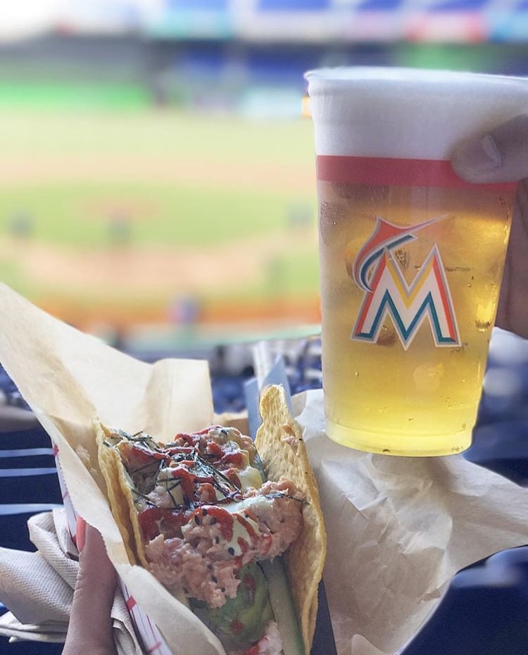 Marlins Park Baseball eats