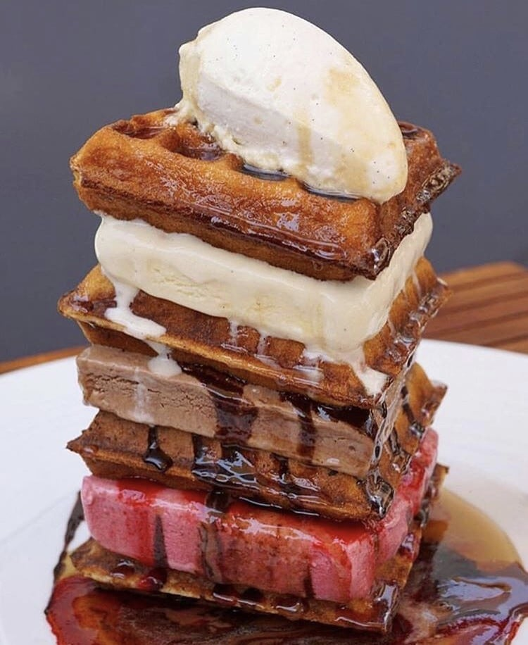 Catch NYC Anytime Waffle Tower